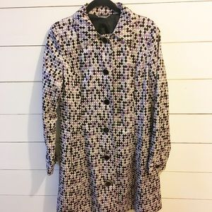 Car Coat, lightweight fully lined, women's size M